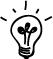 Glühbirne Icon Werte Stärken